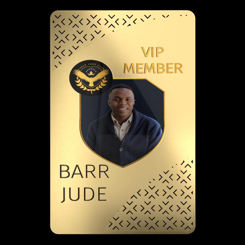 Gold ID Card