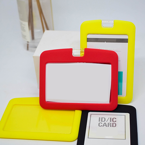 Dense Smooth Plastic With Rubber Holder