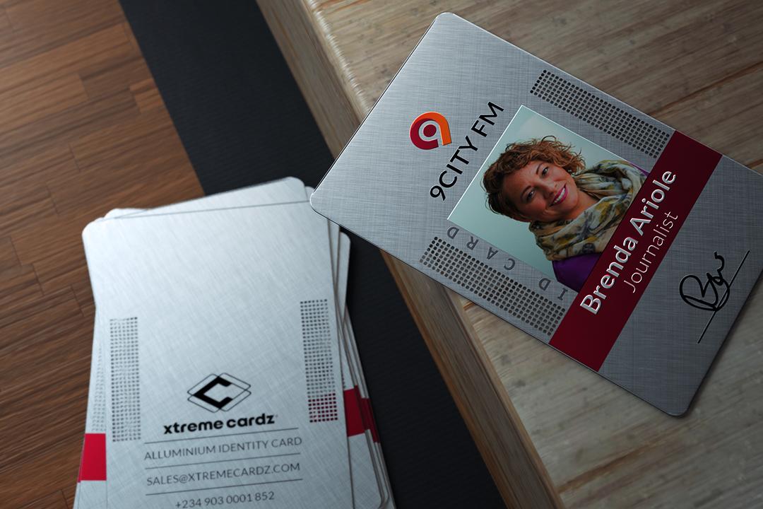 Metal ID Card